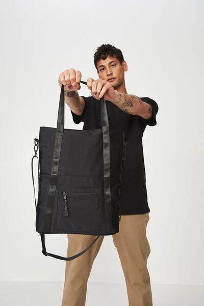 Laptop Tote Bag, BLACK