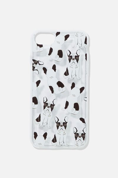 Printed Phone Cover Universal 6,7,8, FRENCHIE YARDAGE
