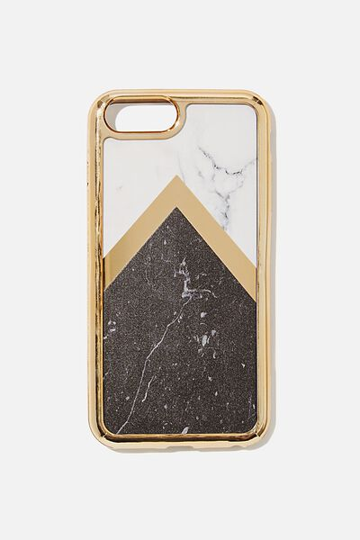 The Superior Phone Cover 6,7,8 Plus, MARBLE SPLICE