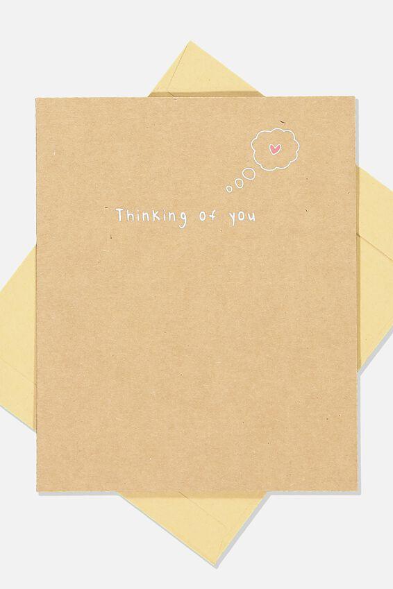 Sympathy Card, THINKING OF YOU CRAFT