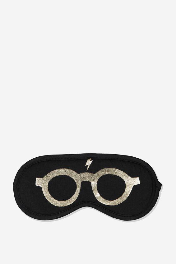 Harry Potter Sleep Eye Mask, LCN WB HARRY GLASSES