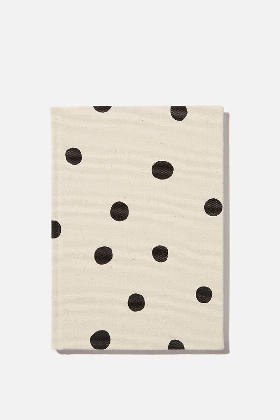2021 A5 Oxford Weekly Diary, ECRU OVERSIZED POLKA