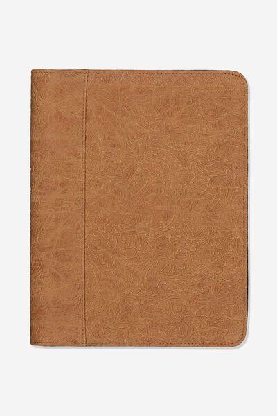 Tablet Compendium, MID TAN FLORAL
