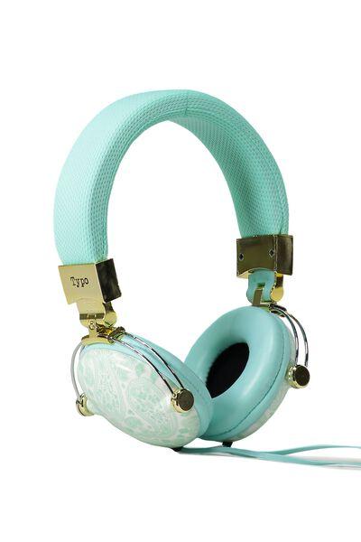 Tune Out Headphones, AQUA LACE