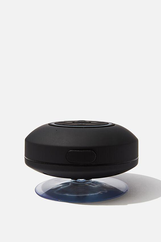 Wireless Led Shower Speaker, BLACK 2.0