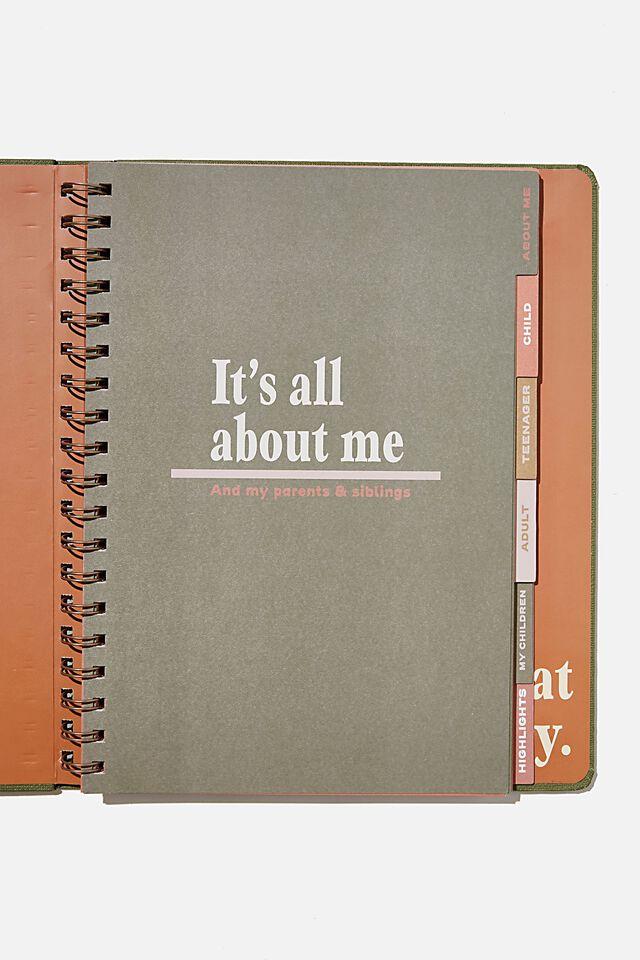 Large Premium Activity Journal, MY LIFE STORY