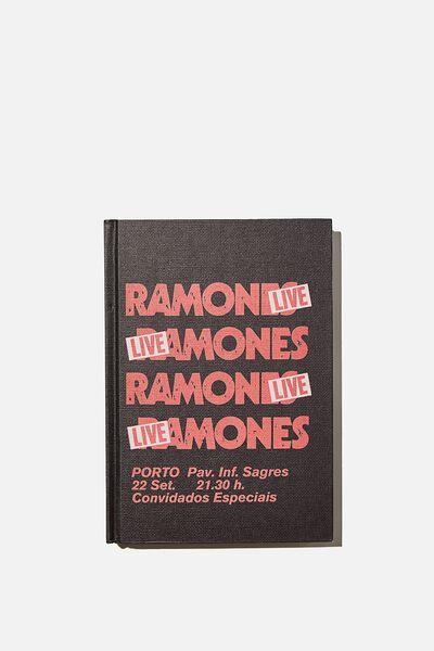 The Big Ticket Notebook, LCN MT RAMONES