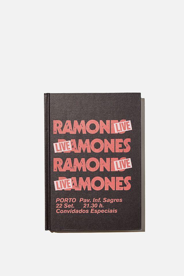 The Big Ticket Notebook Ramones, LCN MT RAMONES