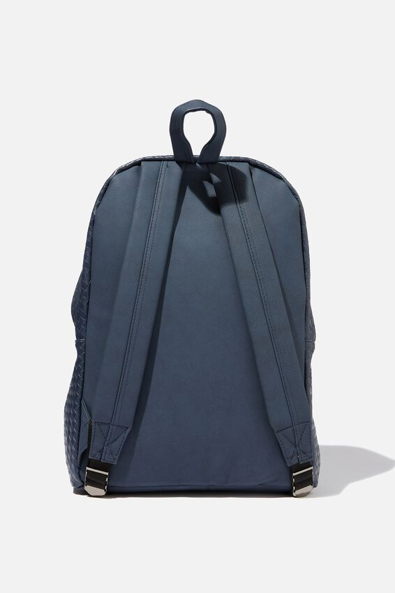 Austin Backpack, NAVY WEAVE
