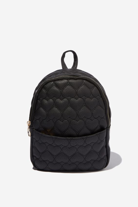 Mini Cairo Backpack, QUILTED HEART