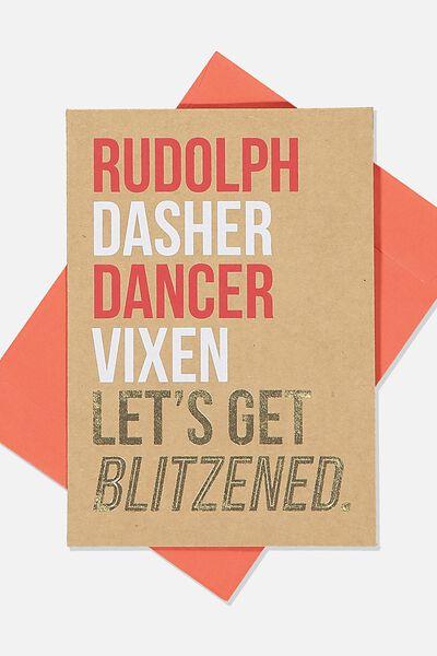 Christmas Card 2019, RUDOLPH DANCER