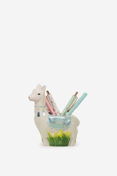 Pen Holder, LOLA THE LLAMA