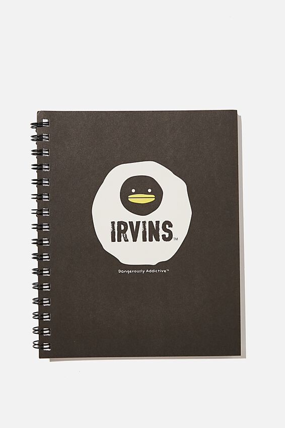 A5 Campus Notebook Recycled, LCN IRVINS DANGEROUSLY ADDICTIVE