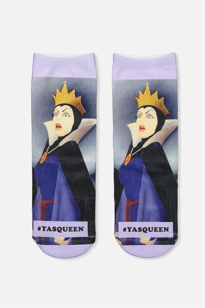 Womens Novelty Socks, LCN YAS QUEEN