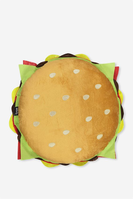 Hamburger Get Cushy Cushion, GOURMET BURGER