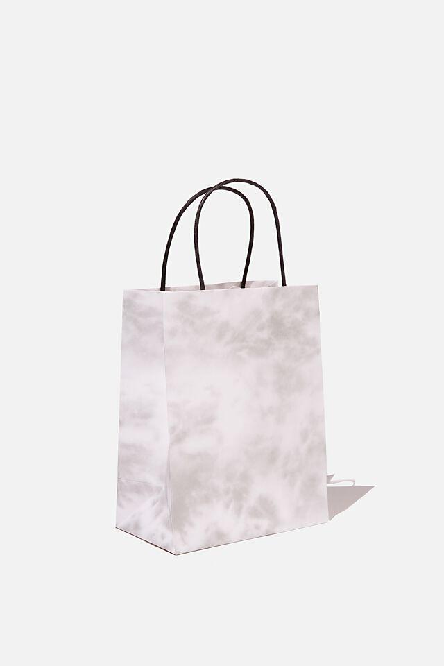Get Stuffed Gift Bag - Small, SPACE GREY TIE DYE