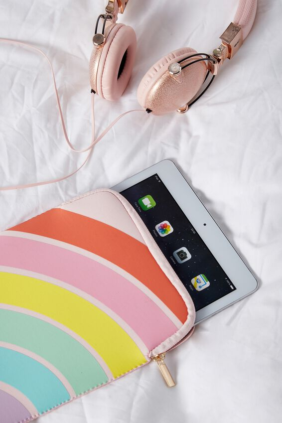 Tablet Sleeve 10 Inch, RAINBOW