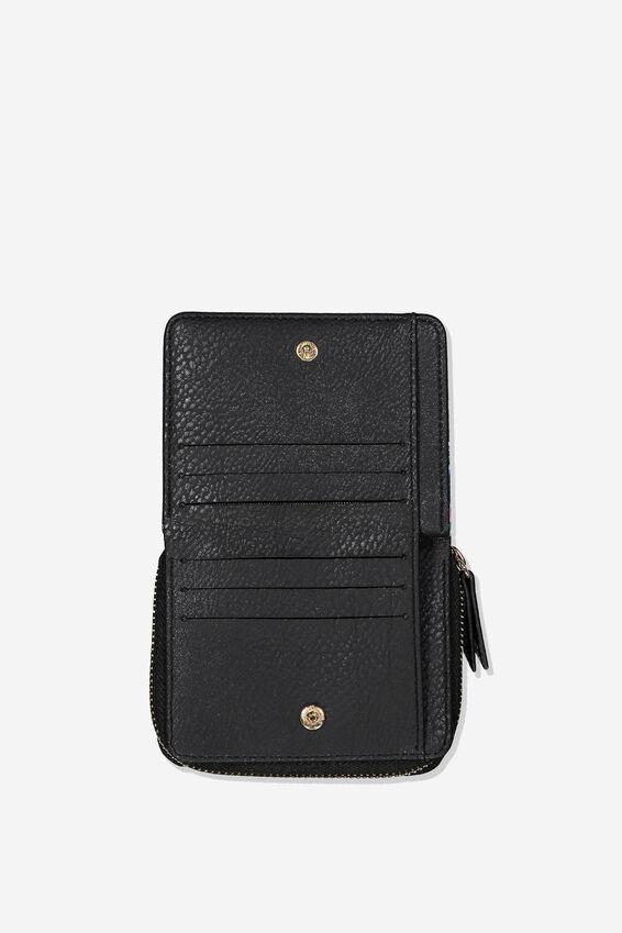Rfid Mini Wallet, RESORT FLORAL