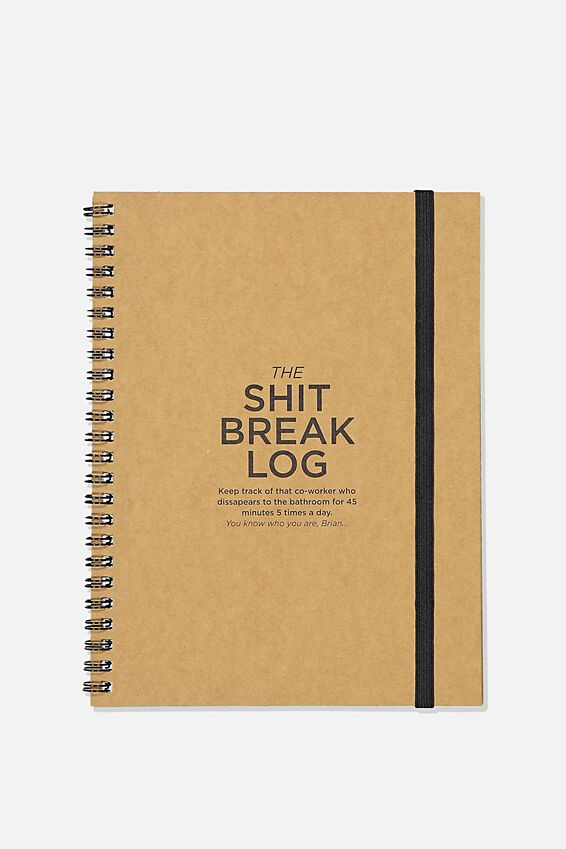 Small Spinout Notebook, BREAK LOG