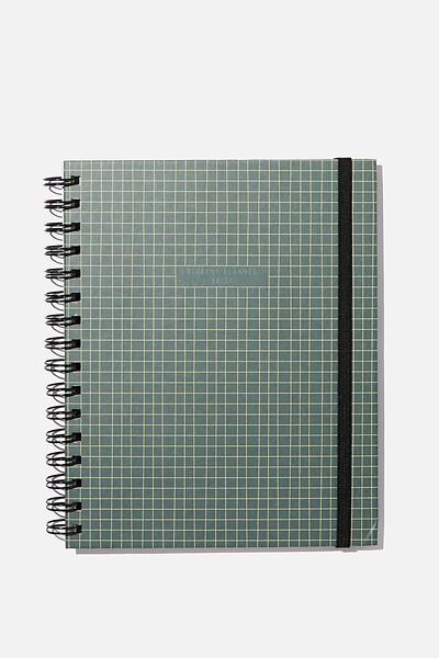 Student Planner 2020 / 21, GREEN GRID