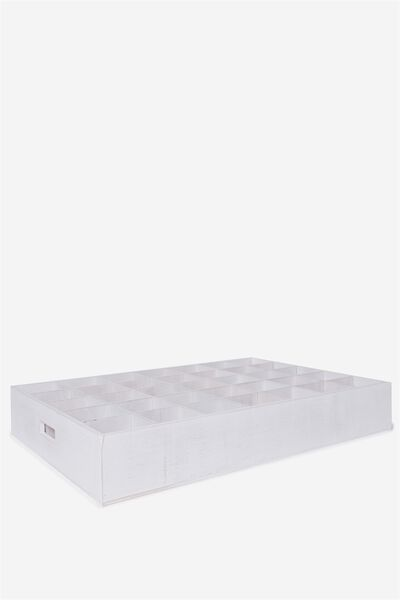 Party Crate Extra Large, WHITE WASH