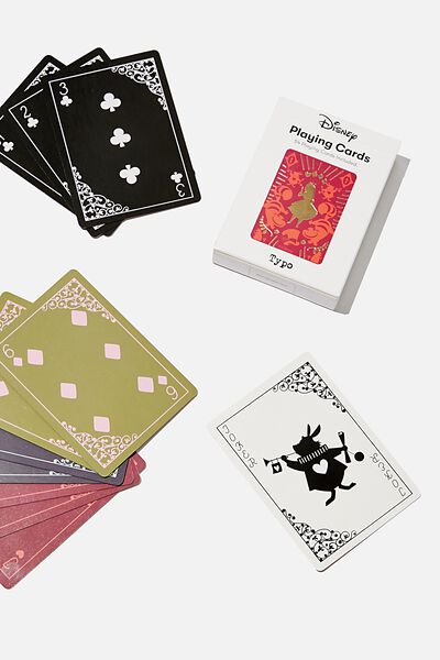 Playing Cards, LCN DIS WALT DISNEY PRESENTS