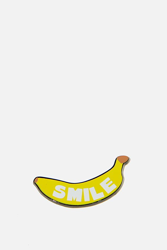 Enamel Stickers, BANANA