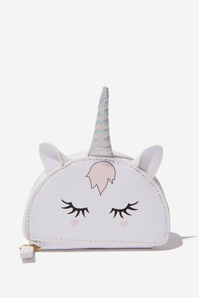 Novelty Coin Purse, UNICORN FACE