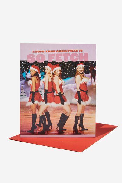 Christmas Card 2021, LCN PAR MEAN GIRLS SO FETCH