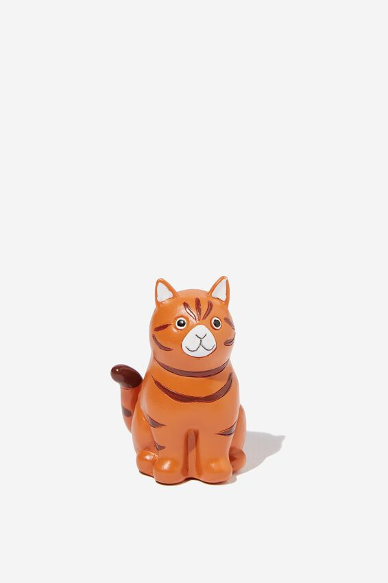 Resin Pencil Sharpener, GINGER CAT