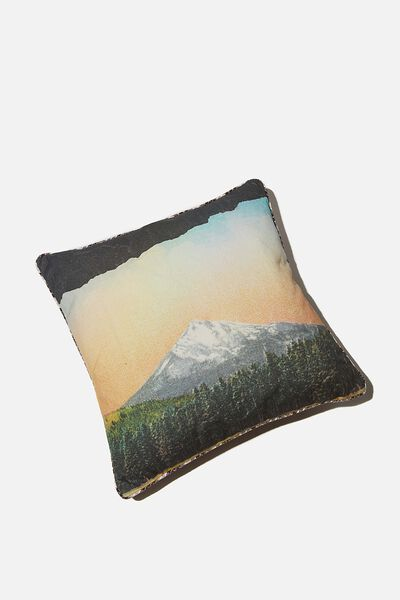 Square Cushion, MOUNTAIN TARTAN