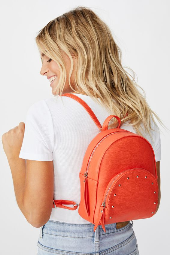 Sunset Mini Backpack, CORAL
