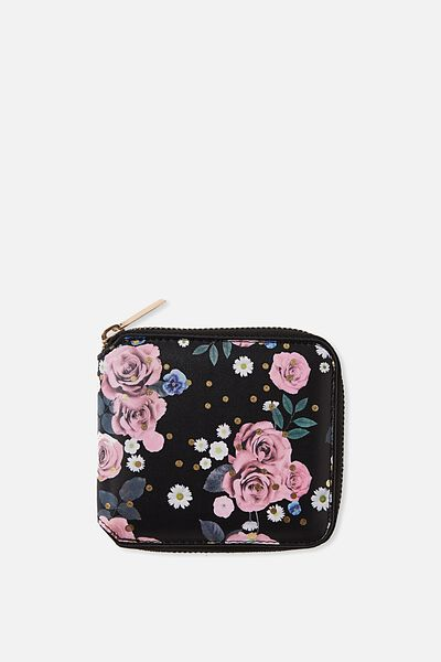 Everyday Wallet, POLKA FLORAL