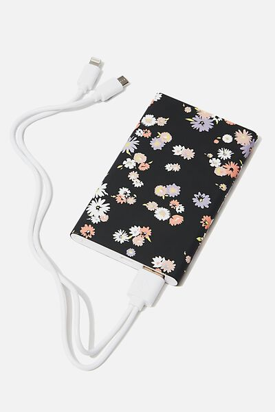 Printed Charge It Charger, DOLLY DAISY