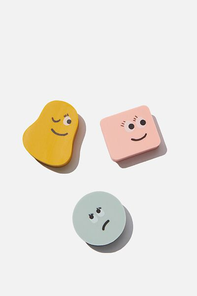 Eraser Pack, MINI FACES