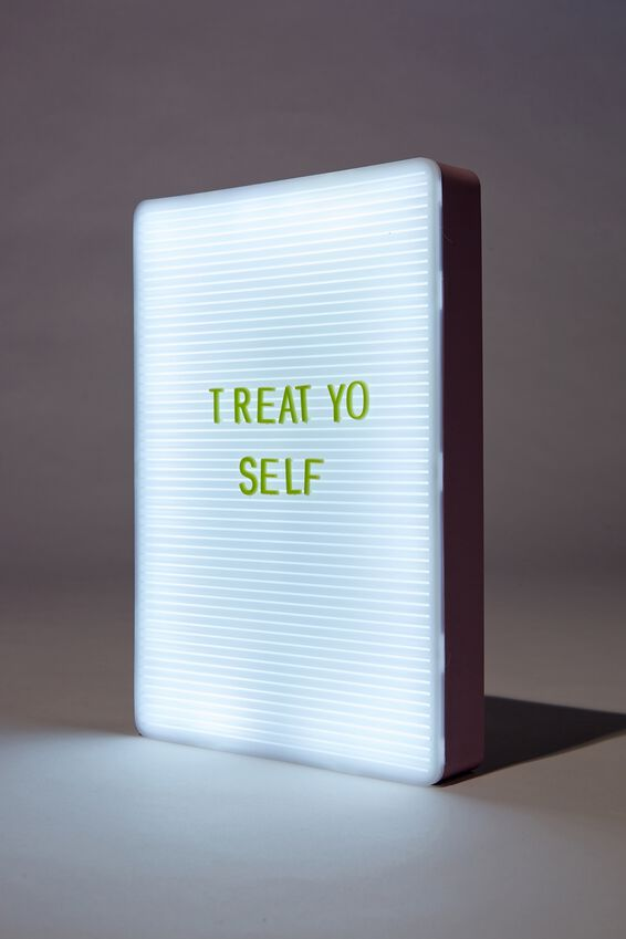 Peg Board Light Box, HEATHER & MENTHE