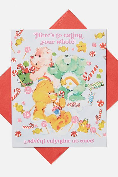 Christmas Card 2020, LCN CLC CARE BEARS ADVENT CALENDAR