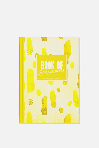A5 Fashion Activity Journal, HAPPINESS JOURNAL