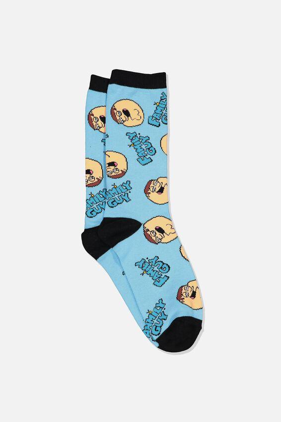 Mens Novelty Socks, LCN FOX FAMILY GUY