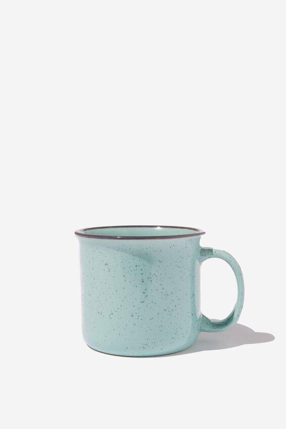 Large Ceramel Mug, MINT NOPE KIND OF DAY