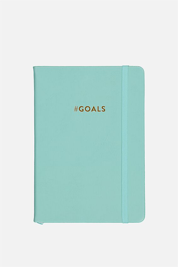 Personalised A5 Buffalo Journal, BLUE
