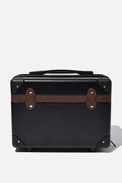Travel Trunk Mini Carry Case, BLACK