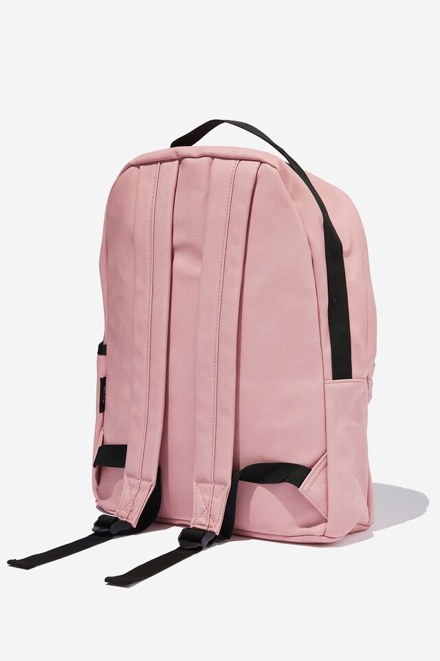 Premium Alumni Backpack Pu, LCN DIS MICKEY HEAD YDG DUSTY LILAC