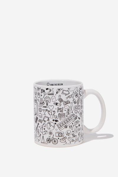Anytime Mug, FINDER