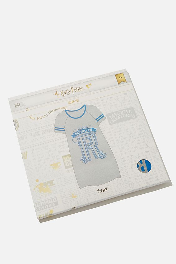 The Harry Potter Sleep Tee, LCN WB HPO RAVENCLAW COLLEGE