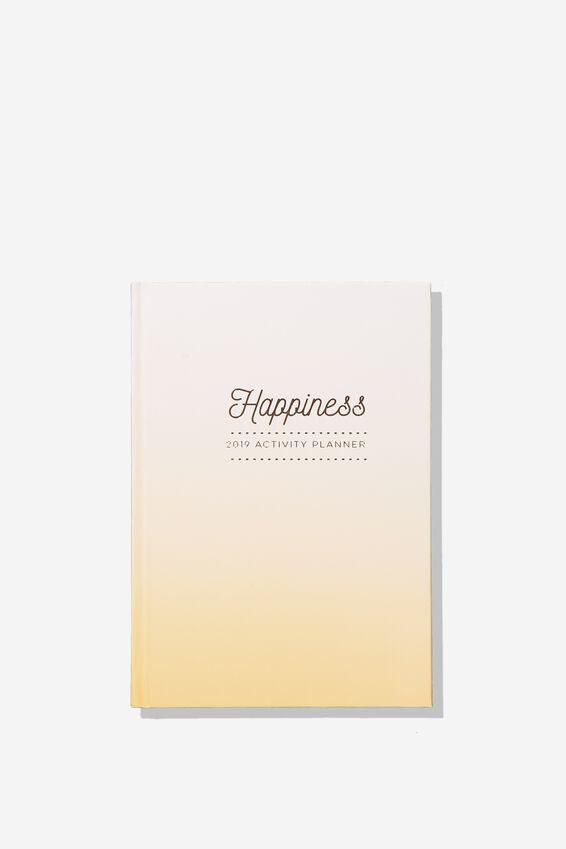2019 Activity Diary, PEACH HAPPINESS