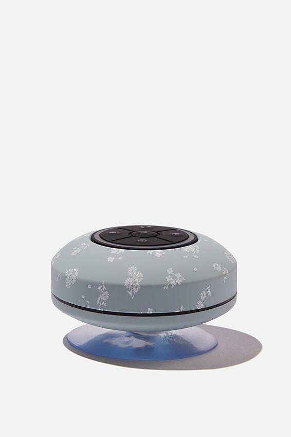 Wireless Led Shower Speaker, DOTTIE FLORAL HYACINTH 2.0