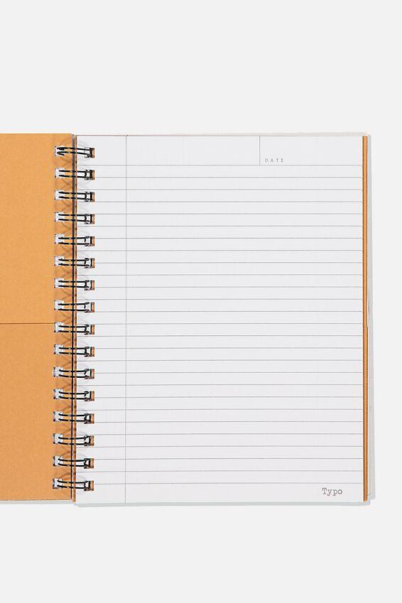 "A5 Campus Notebook-V (8.27"" x 5.83""), TOMORROW"