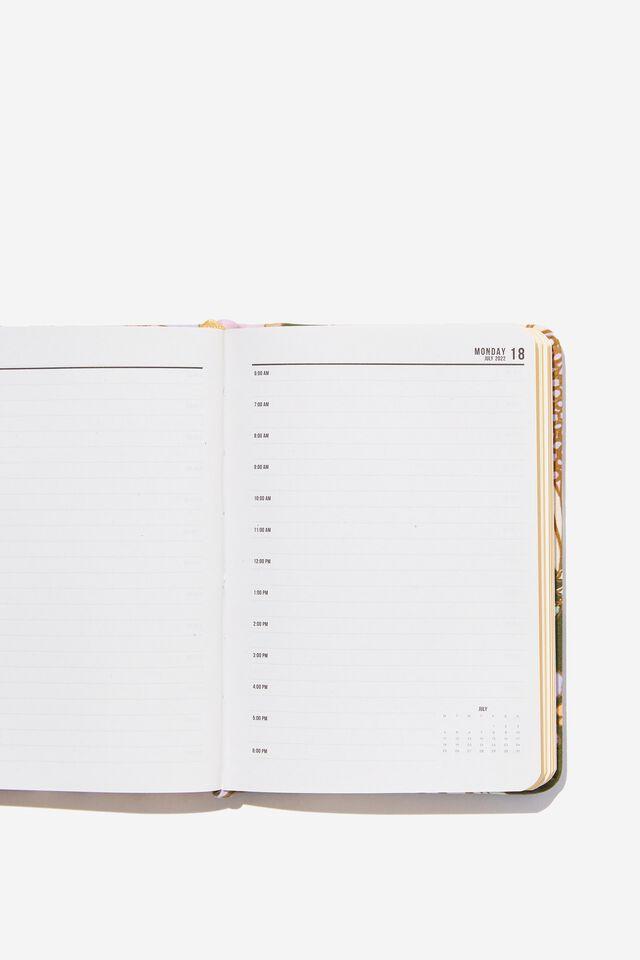2022 A6 Daily Buffalo Diary, SUNNIE FLORAL