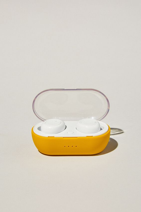 Wireless Earbuds, MUSTARD